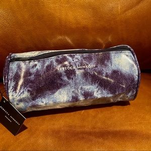 Rebecca Minkoff Vinyl Tie Dye Barrel Makeup Bag